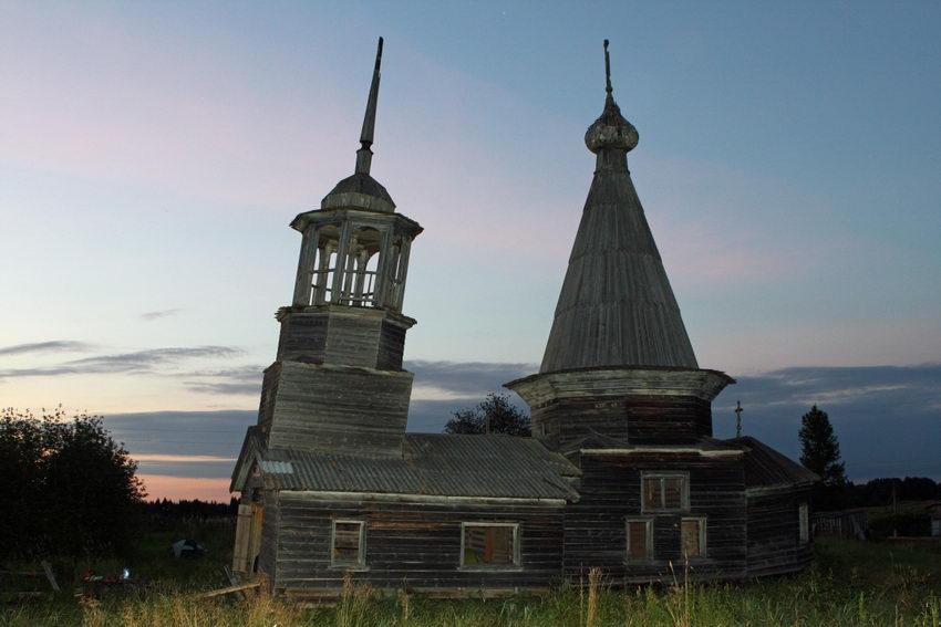 Церковь Параскевы Пятницы-Воймозеро-Онежский район-Архангельская область