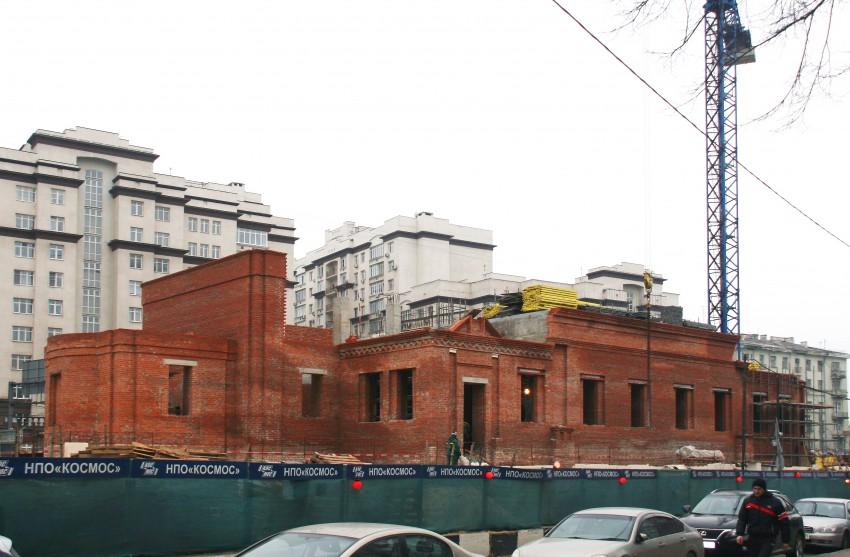 Строительство храмов