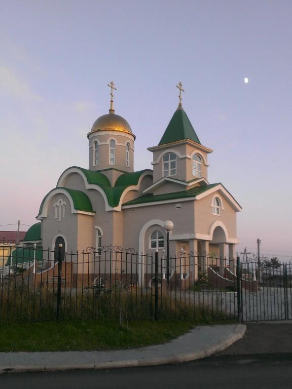 Церковь Троицы Живоначальной-Южно-Курильск-г. Южно-Курильск-Сахалинская область