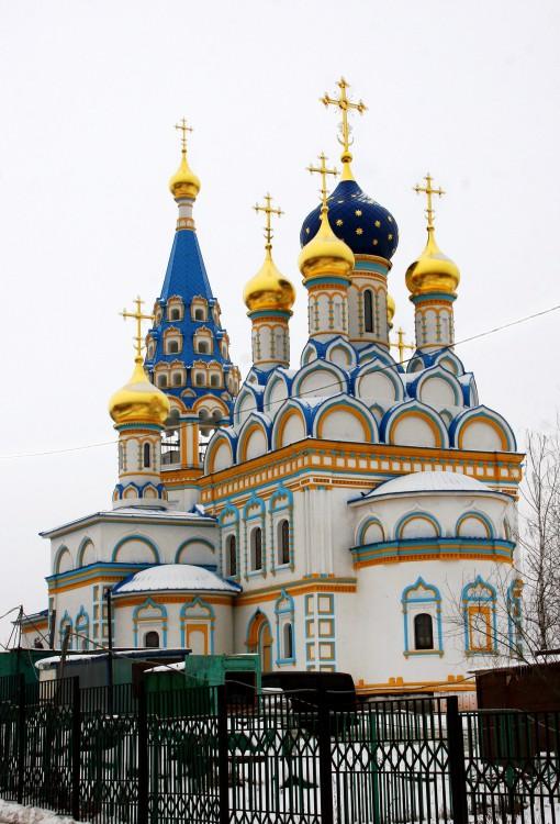 Храм Божией Матери «Неувядаемый цвет» в Кунцево. Построен в 2013 году