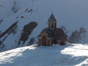 Церковь Вознесения Господня - Гудаури - Мцхета-Мтианетия - Грузия