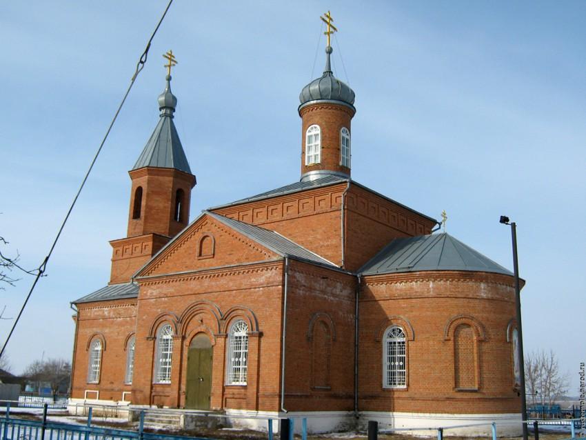 Церковь Димитрия Солунского, Платава
