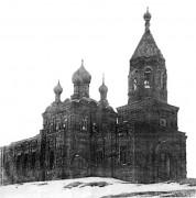 Церковь Сошествия Святого Духа - Гультяи - Пустошкинский район - Псковская область