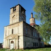 Церковь Димитрия Солунского - Тимошино (Семёновская 1-я) - Верхнетоемский район - Архангельская область