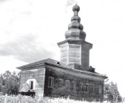 Смотраковская (Пинежка). Иоанно-Богословский Варлаамиев Важский монастырь. Церковь Сошествия Святого Духа (Трех Святителей)