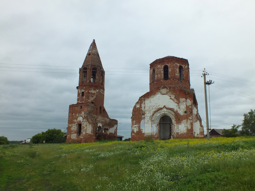 Церковь Владимирской иконы Божией Матери, Бугаево (Бугаевское)