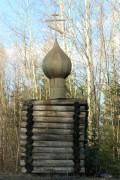 Неизвестная часовня - Трасса Сыктывкар - Чебоксары, 135 км - Сысольский район - Республика Коми