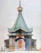 Янги-Чиназ (Русский Чиназ). Александра Куштского, церковь