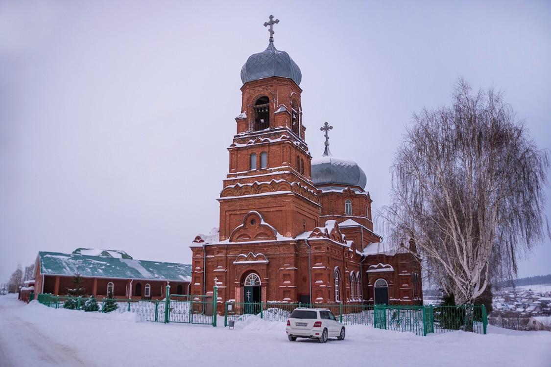 Церковь Богоявления Господня, Курумоч