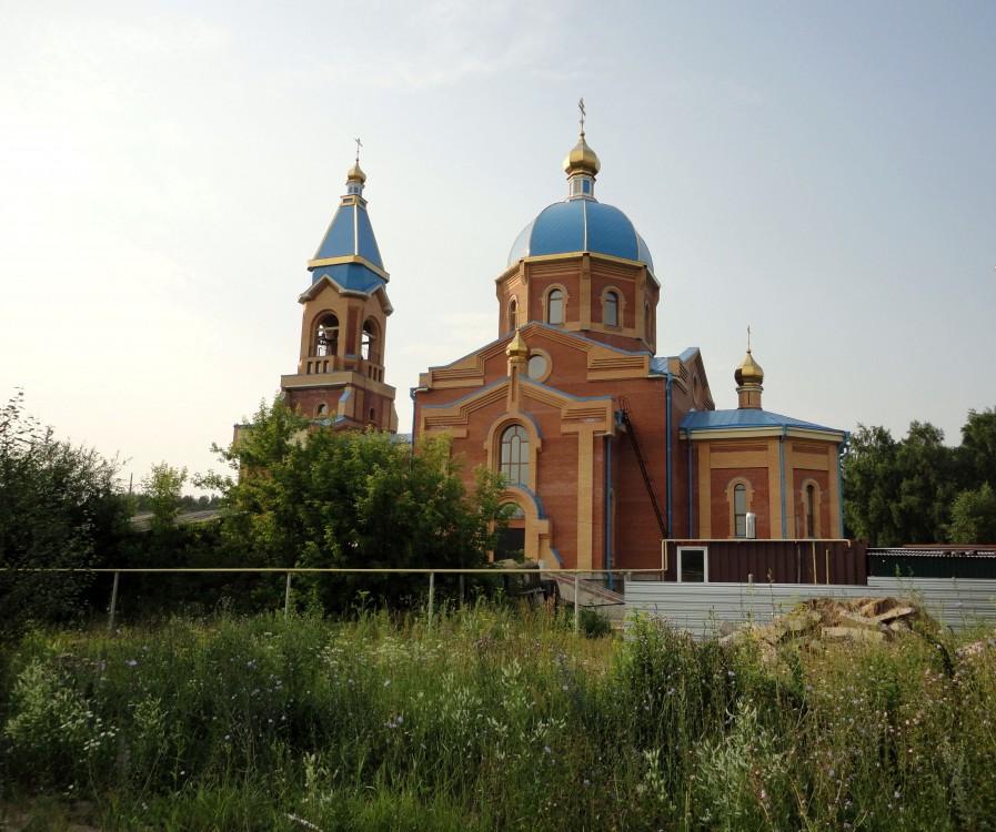 Церковь Казанской иконы Божией Матери, Новосибирск