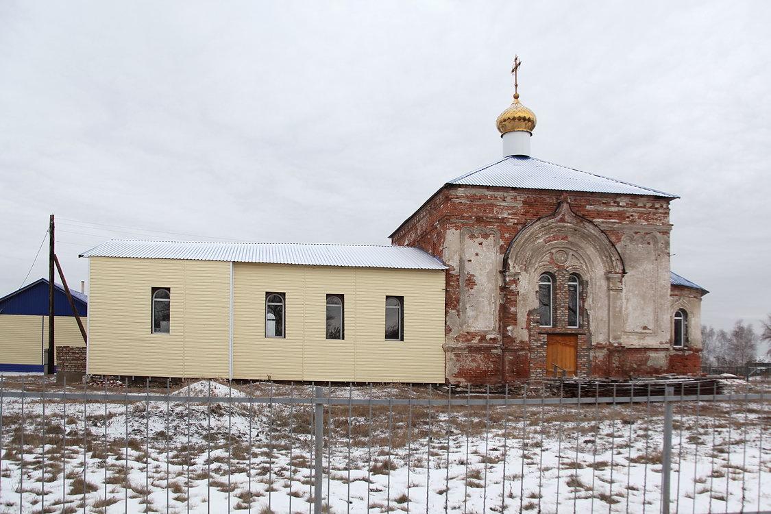 Церковь Покрова Пресвятой Богородицы, Половинное