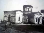 Церковь Троицы Живоначальной - Большая Рига - Шумихинский район - Курганская область