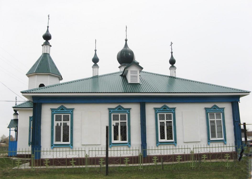 Церковь Троицы Живоначальной, Красный Яр