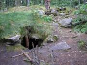 Пещерный комплекс старообрядческого скита на острове Веры озера Тургояк - Веры, остров - г. Миасс - Челябинская область