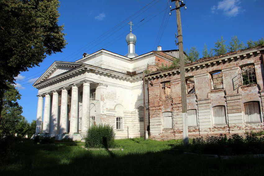 Церковь Спаса Преображения, Вожгалы