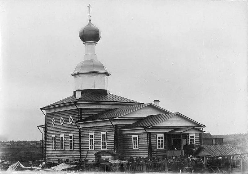 Церковь Введения во храм Пресвятой Богородицы (новая), Погост (Пиньгиша)