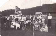 Церковь Тихвинской иконы Божией Матери (старая) - Осока - Барышский район - Ульяновская область