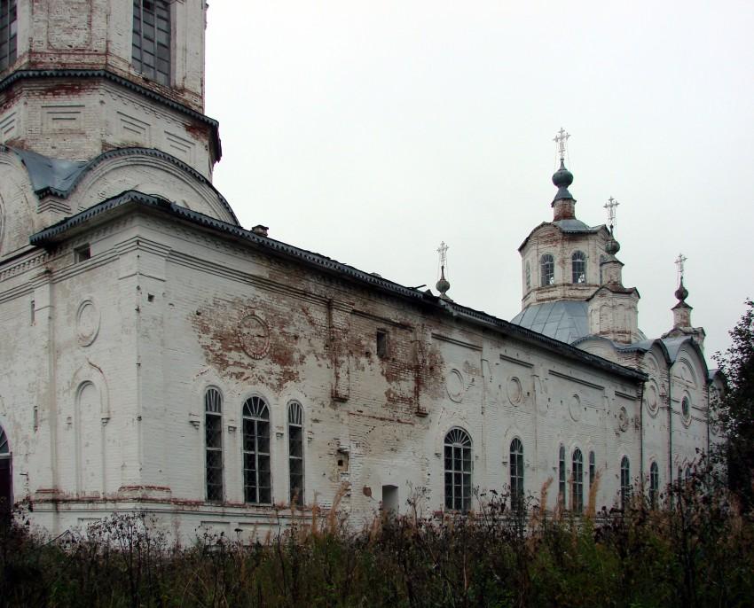Церковь Николая Чудотворца, Новая Яхреньга