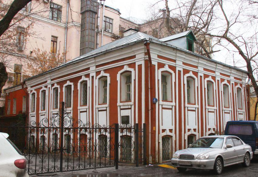 Церковь Алексия, митрополита Московского в доме причта церкви Николая Чудотворца в Заяицком, Москва