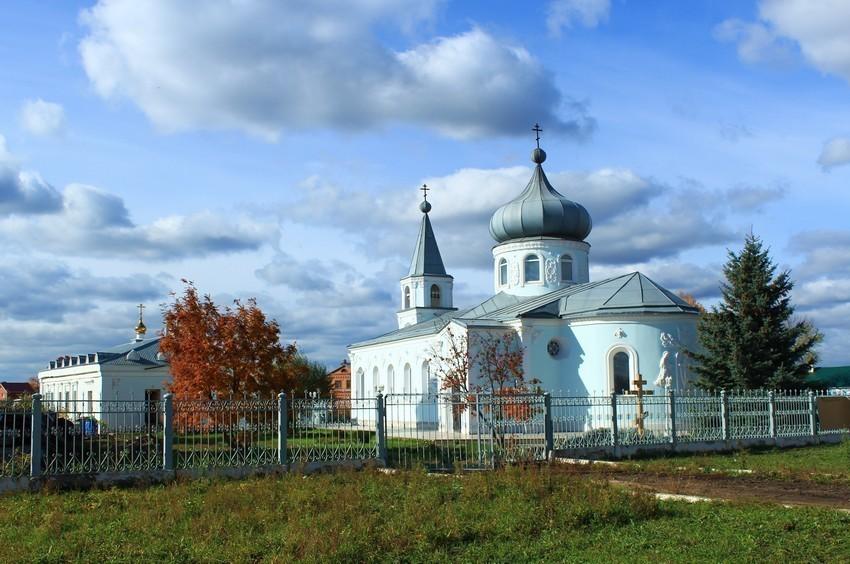 Церковь Николая Чудотворца (новая), Смышляевка