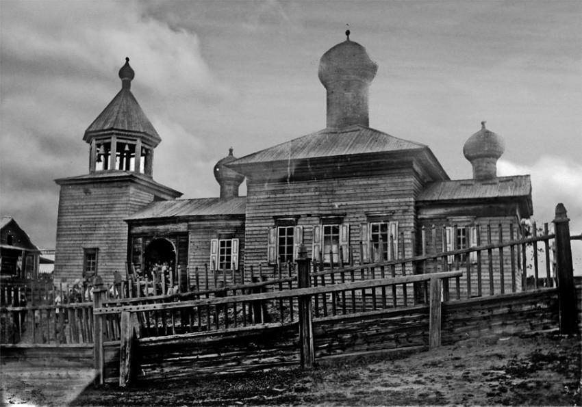 Церковь Иннокентия Иркутского, Нюя