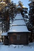Часовня Николая Чудотворца - Тикша - Муезерский район - Республика Карелия