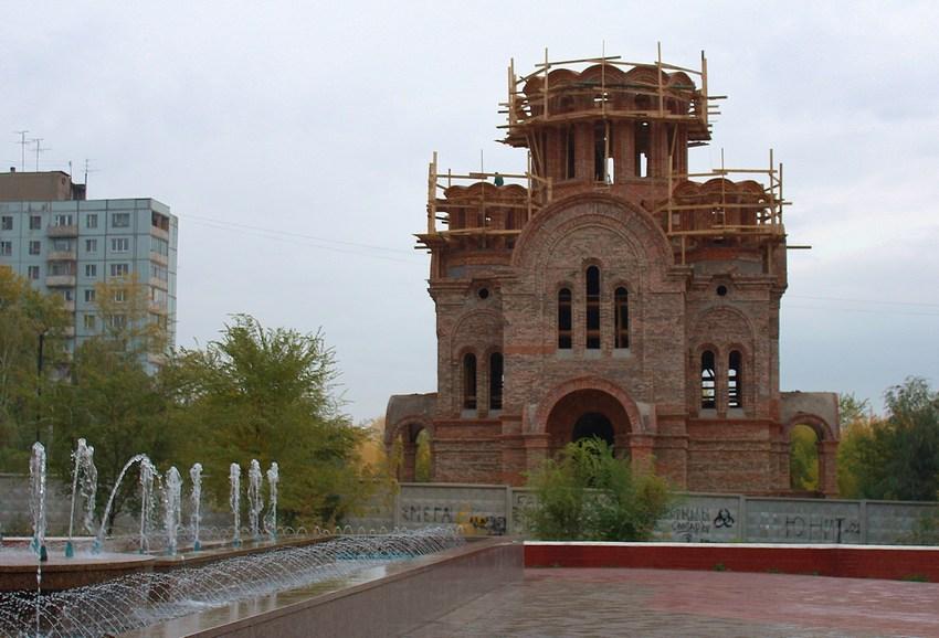 Церковь Троицы Живоначальной на Воронежских озёрах (новая), Самара
