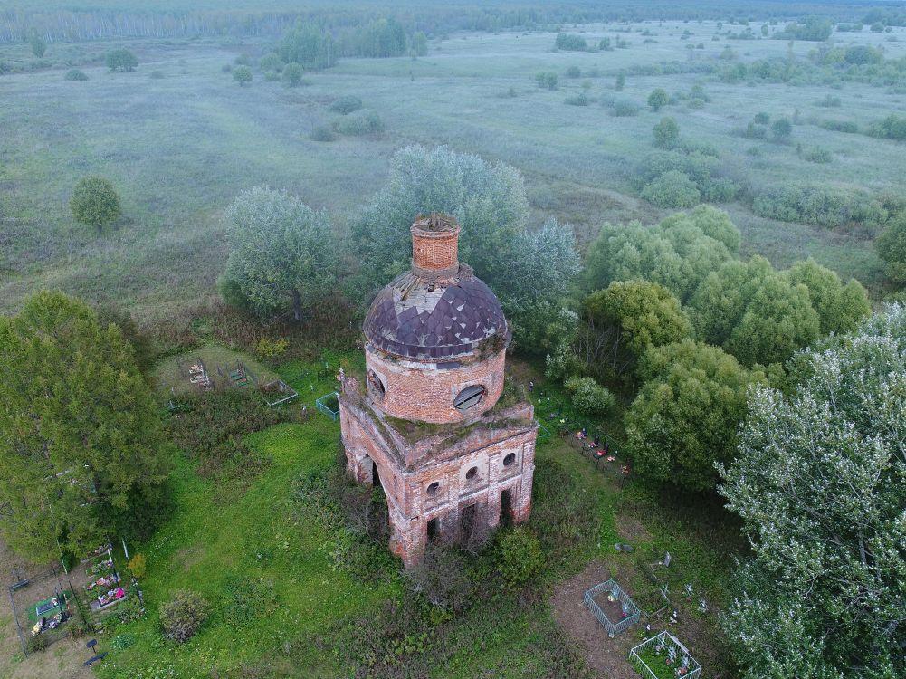 Церковь Успения Пресвятой Богородицы, Новое Село (погост Успенский на Болоте)