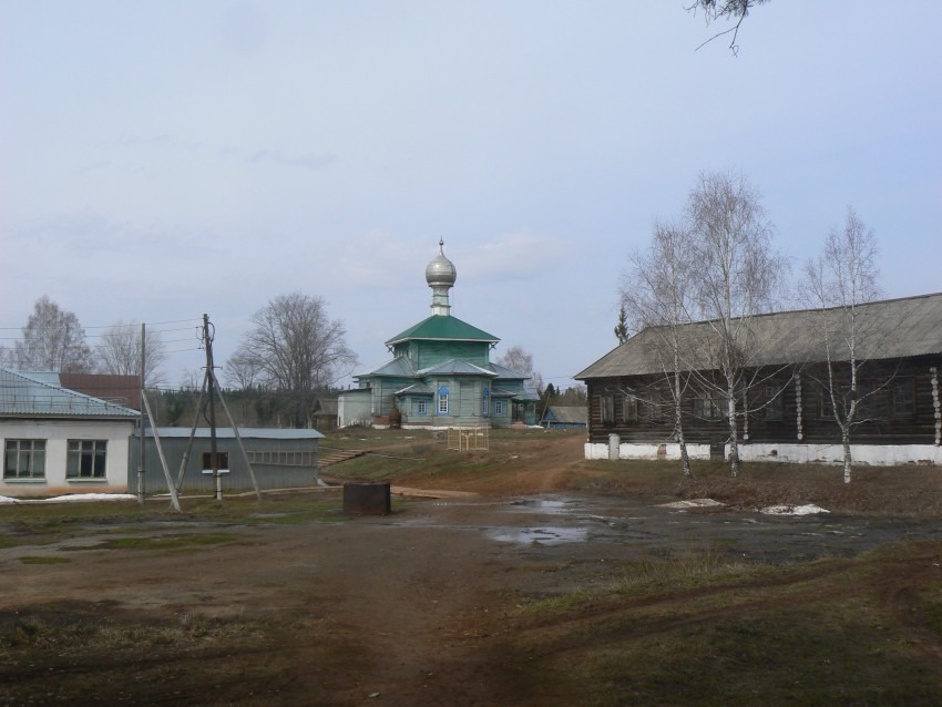 Церковь Николая Чудотворца-Чекан-Увинский район-Республика Удмуртия
