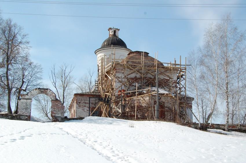 Церковь Троицы Живоначальной, Троицк