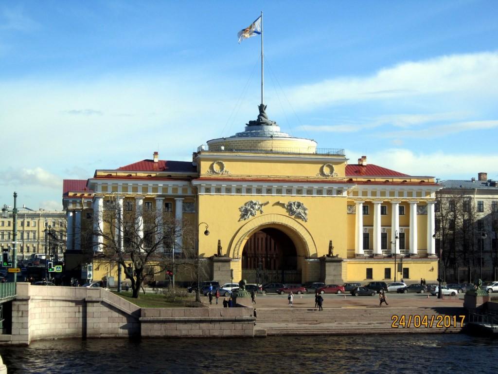Церковь Спиридона Тримифунтского в Восточном павильоне Главного Адмиралтейства, Санкт-Петербург