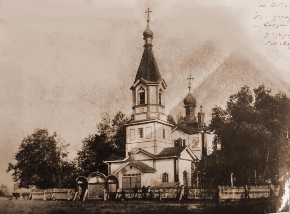 Церковь Воздвижения Креста Господня, Потняк