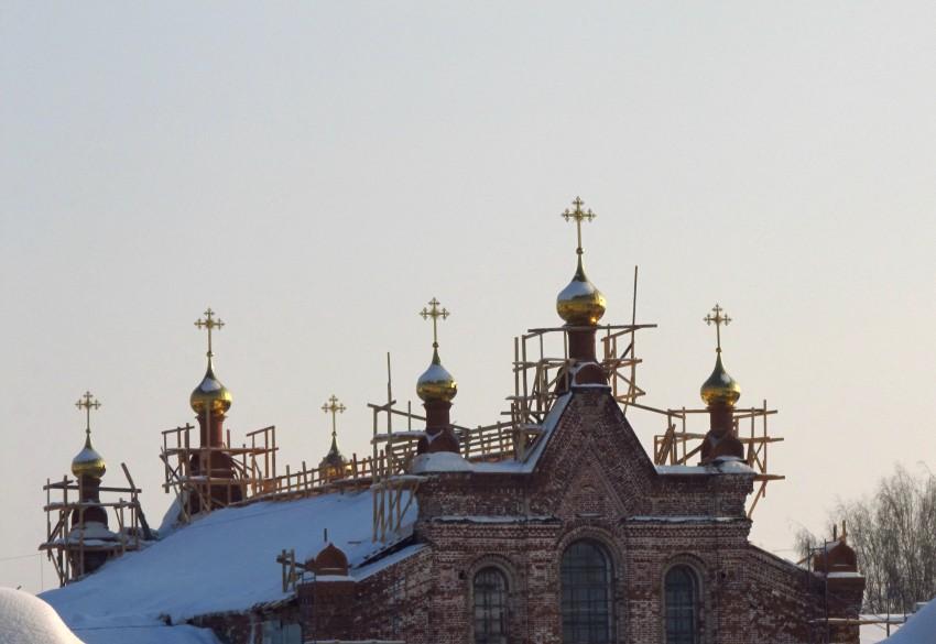 Спасо-Преображенский монастырь. Церковь иконы Божией Матери