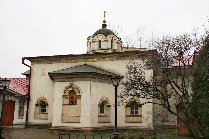 Церковь Всех Святых Афонских, Москва