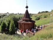 Макаровка. Иоанно-Богословский Макаровский мужской монастырь. Неизвестная часовня над источником Николая Чудотворца