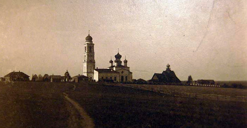 Церковь Димитрия Солунского, Дмитриевское
