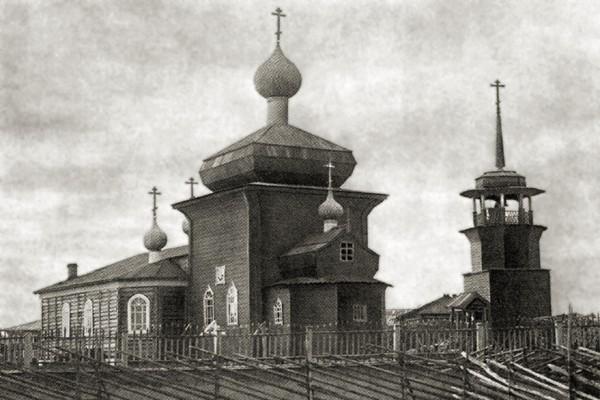 Церковь Николая Чудотворца, Унежма