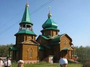 Серафимовский монастырь. Церковь Серафима Саровского - Татьяновка - Марьяновский район - Омская область