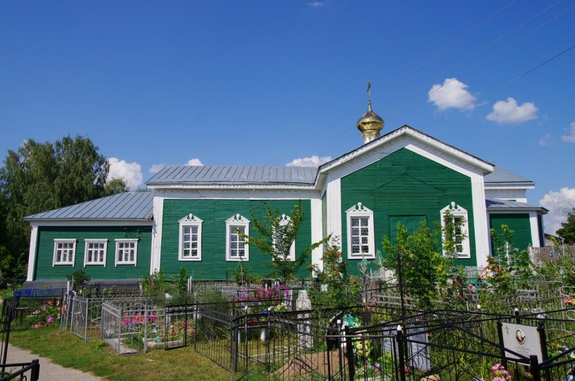 Церковь Николая Чудотворца-Спас-Клепики-Клепиковский район-Рязанская область