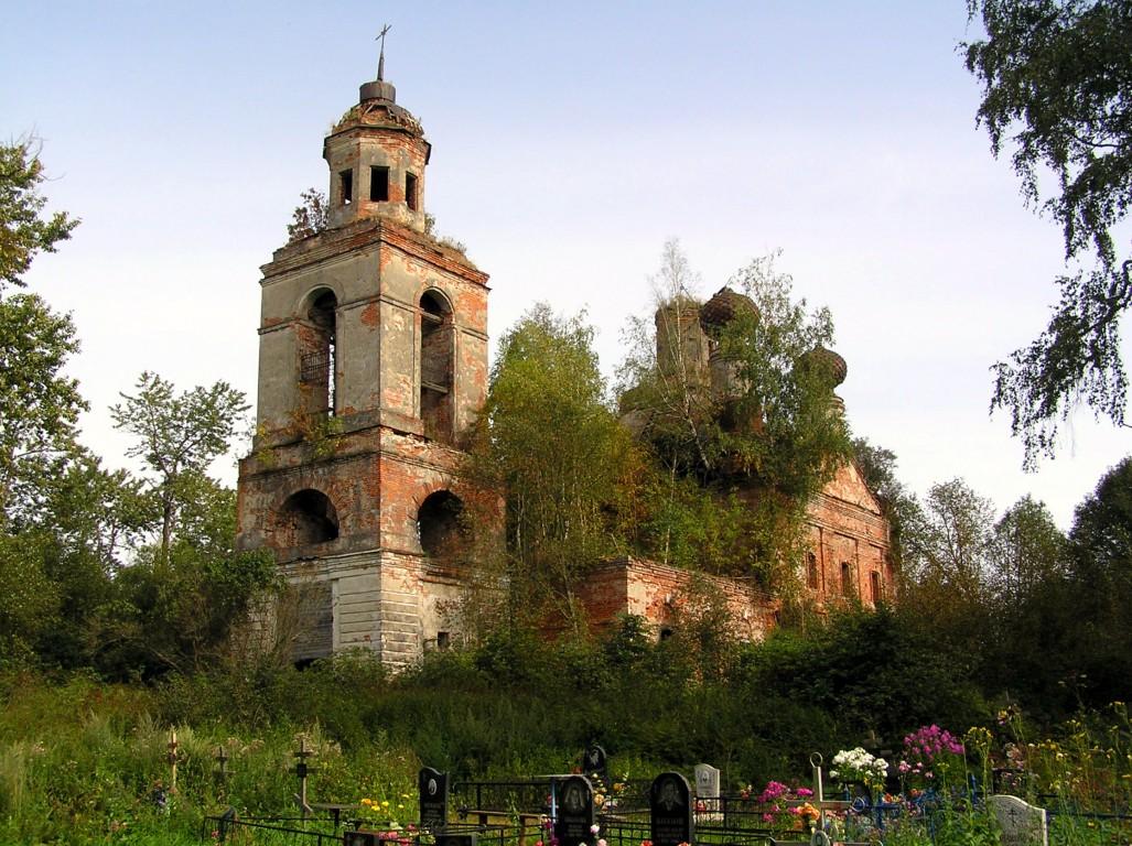 Церковь Михаила Архангела-Суходол-Кесовогорский район-Тверская область