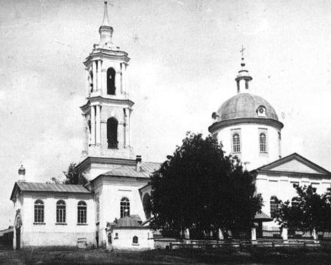 Церковь Казанской иконы Божией Матери, Сюмси