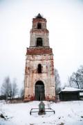Чистая Дуброва. Покрова Пресвятой Богородицы, колокольня церкви