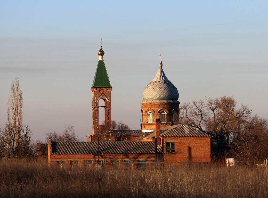 Церковь Спаса Преображения-Займо-Обрыв-Азовский район-Ростовская область