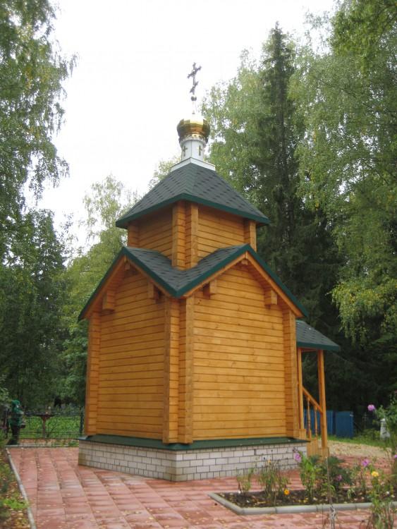Часовня Матроны Московской, Шахунья