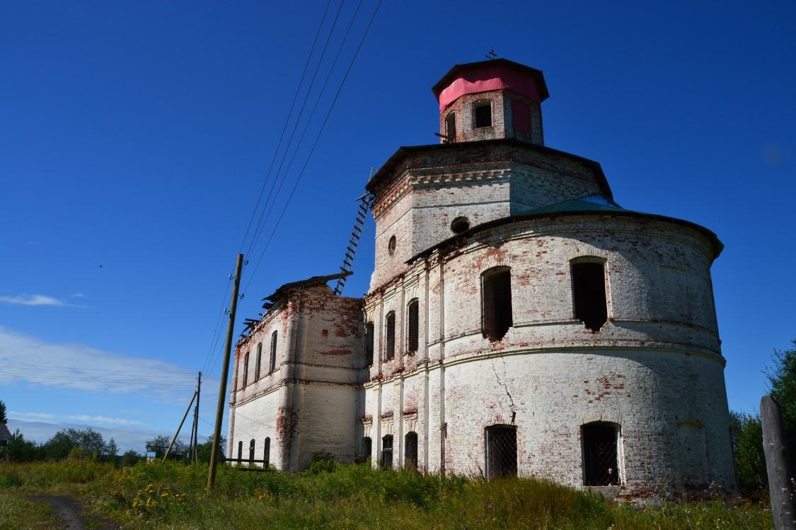 Церковь Спаса Преображения, Шеговары