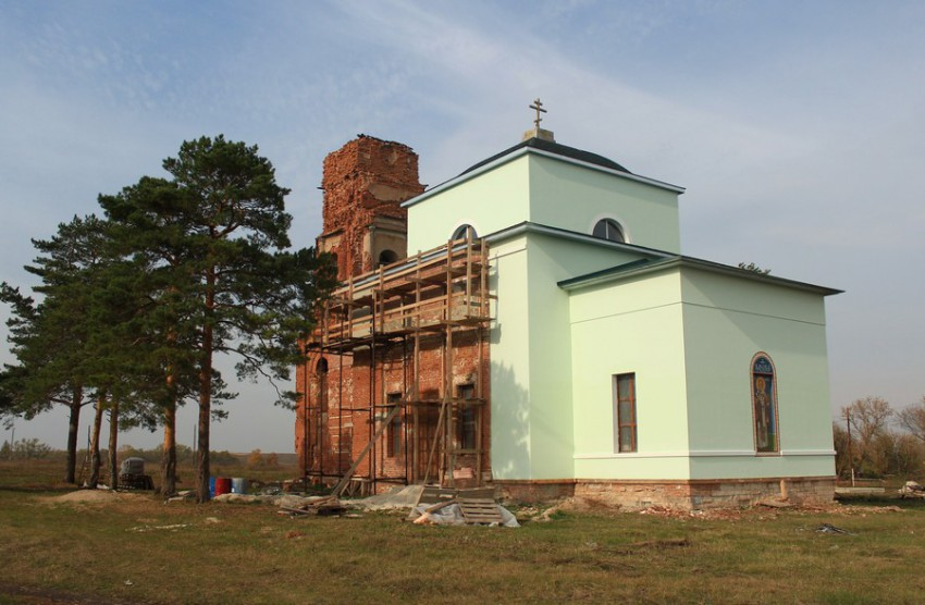 Церковь Николая Чудотворца, Красный Городок