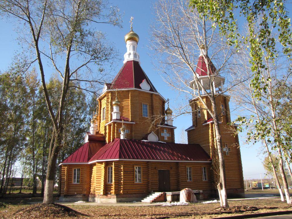 Церковь Спиридона Тримифунтского, Луховка