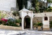 Иерусалим - Масличная гора. Гефсиманский монастырь Марии Магдалины. Пещерная часовня Страстей Господних