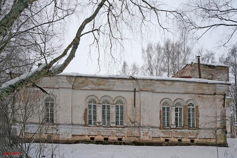 Церковь Тихвинской иконы Божией Матери, Парфеново