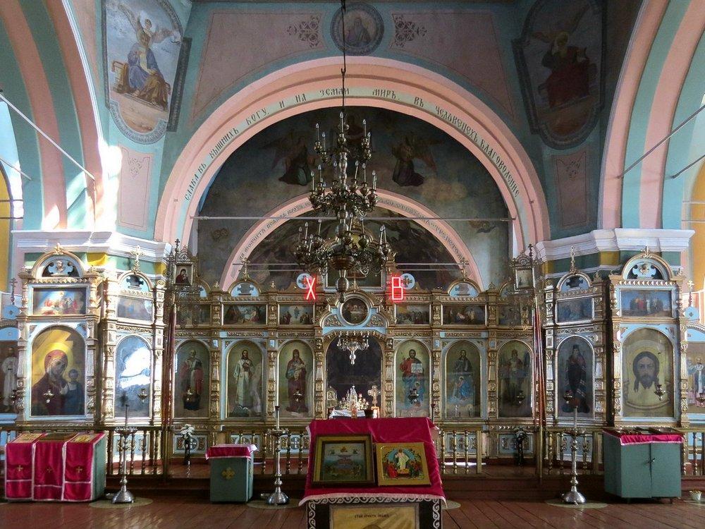 Церковь Михаила Архангела, Старосеславино